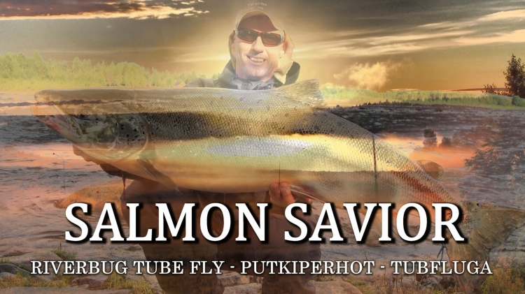 PUTKIPERHOT - TUBEFLY - SALMON FISHING -MATKAKOSKI - TORNIONJOKI. RiverBug tube fly method gives you an easy way to make well working tube flies for all kind of fishing. #tubefly #tubfluga #flytying #flyfishing #salmon #lohi #tornionjoki #putkiperhot #perhokalastus #riverbug