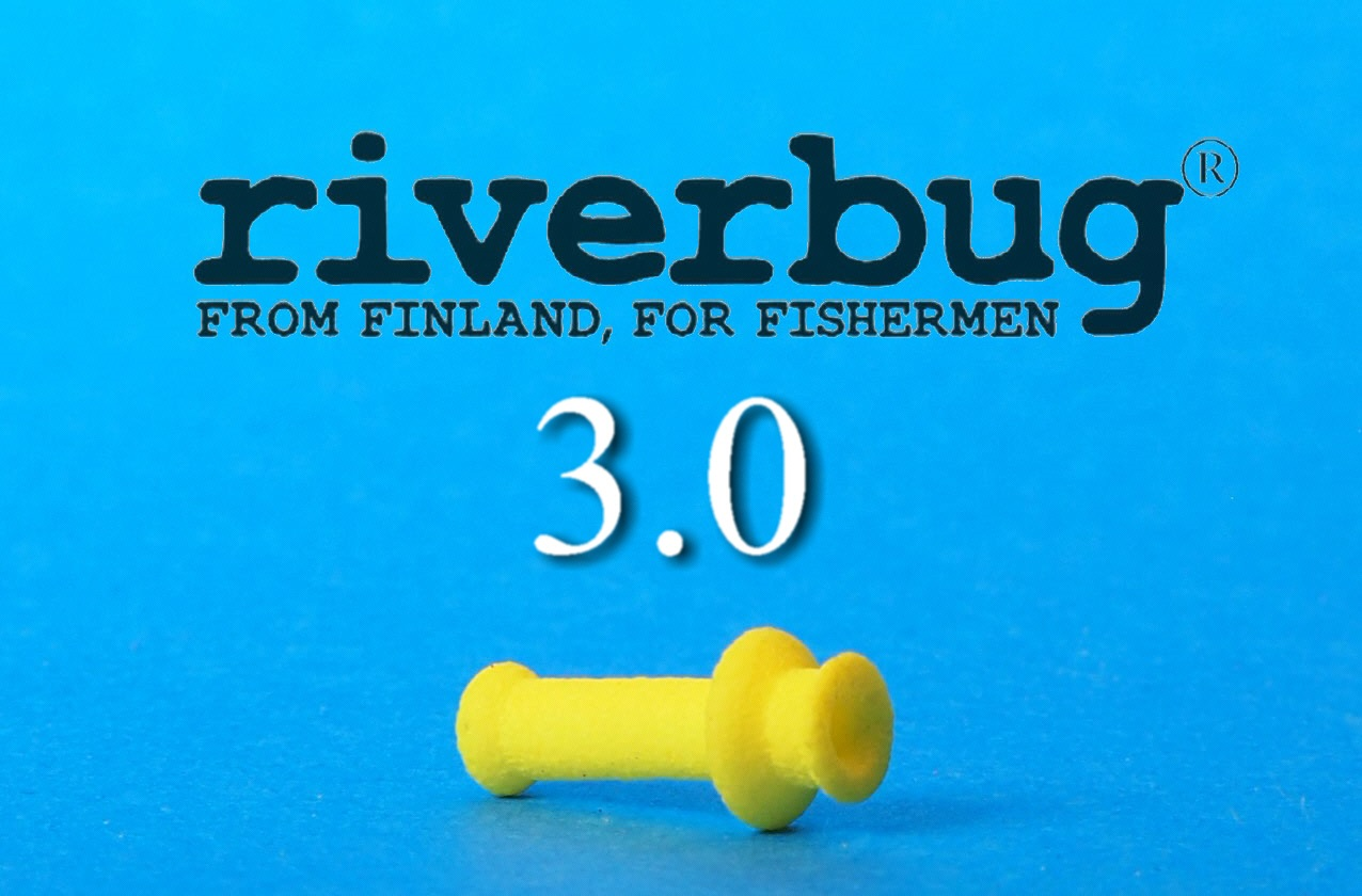 RiverBug 3.0 tube Fly sleeve - RiverBug 3.0 putkiperhorunko - Keltainen #putkiperho #kalastus #fishing #kala #perhokauppa #riverbug #putkiperhot #lohi #taimen #DIY #yellow #original #riverbugfinland #perhokalastus #tubefly #flytying #easy #perhonsidonta