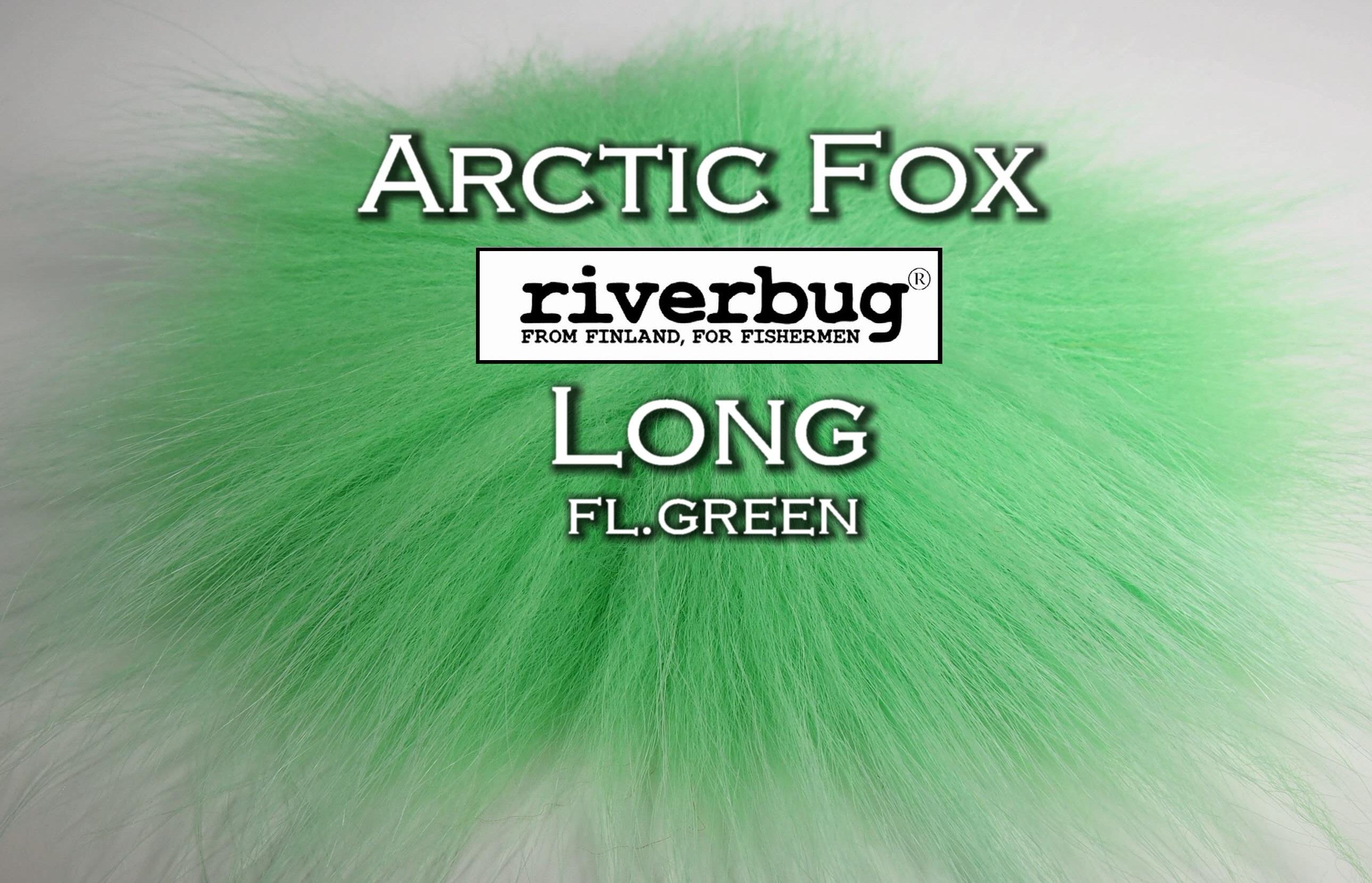 RiverBug / Beggar Fox materials. Color FL.Green. Good for any kind of salmon and trout flies. #putkiperho #tubefly #tubfluga #flytying #finn #finnlures #finland #riverbug #ketunkarva #foxfur #hotfoxfur #orange