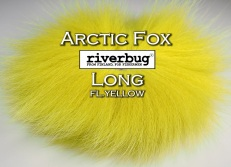 RiverBug / Beggar Fox materials. Color Fl. Yellow. Good for any kind of salmon and trout flies. #putkiperho #tubefly #tubfluga #flytying #finn #finnlures #finland #riverbug #ketunkarva #foxfur #hotfoxfur #yellow