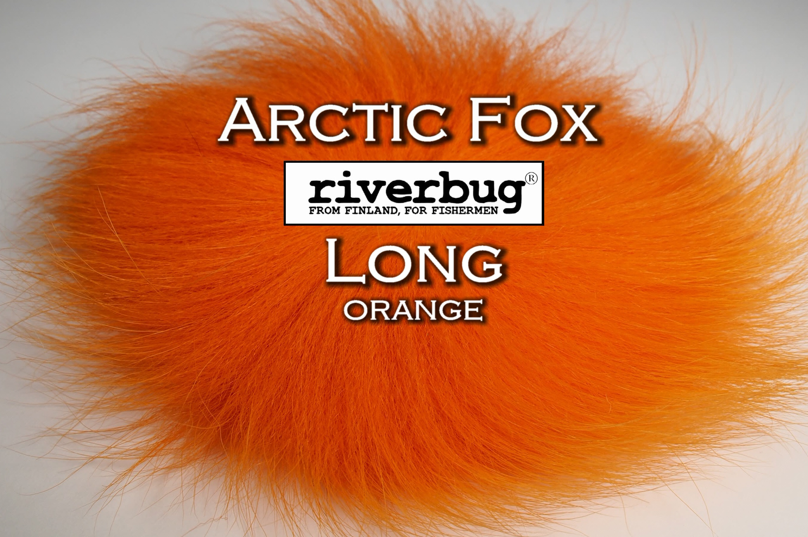 RiverBug / Beggar Fox materials. Color Orange. Good for any kind of salmon and trout flies. #putkiperho #tubefly #tubfluga #flytying #finn #finnlures #finland #riverbug #ketunkarva #foxfur #hotfoxfur #orange