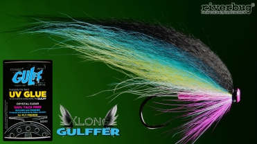 GULFF UV GLUE. Fast way to make heads for RiverBug flies