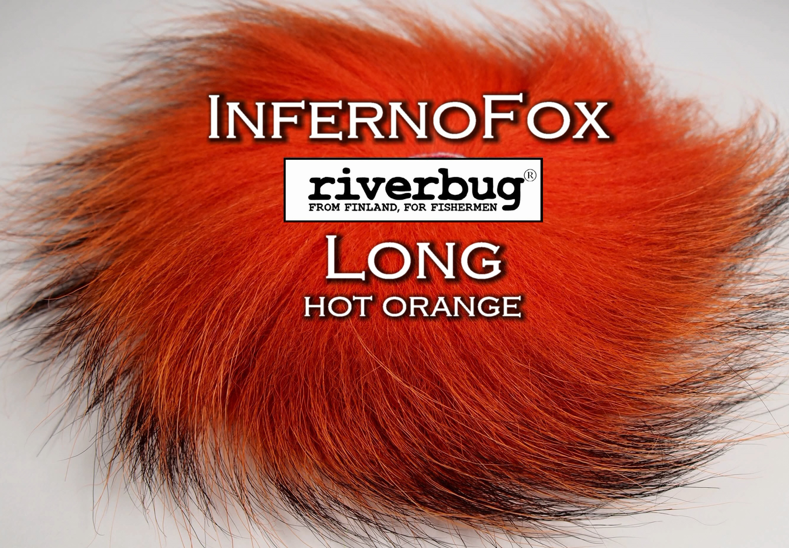 RiverBug / Beggar Fox materials. Color Hot Orange. Good for any kind of salmon and trout flies. #putkiperho #tubefly #tubfluga #flytying #finn #finnlures #finland #riverbug #ketunkarva #foxfur #hotfoxfur #hotorange