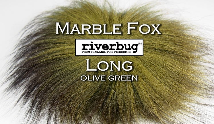 Marble Fox olive green