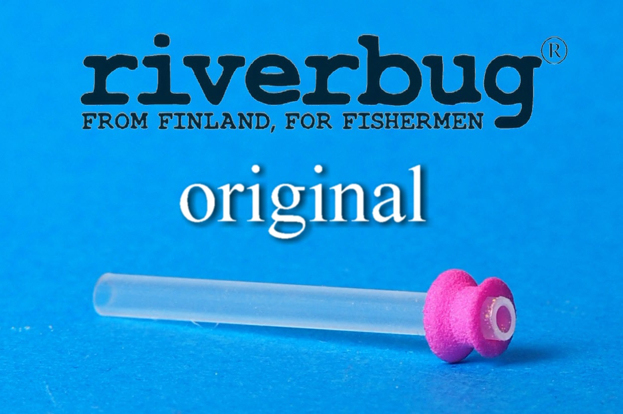 Tube Fly body for easy fly tying - Salmon - Trout - Lohi - Taimen - Pink version #putkiperhot #kalastus #fishing #kala #perhokauppa #riverbug #putkiperhot #lohi #taimen #DIY #pink #original #riverbugfinland