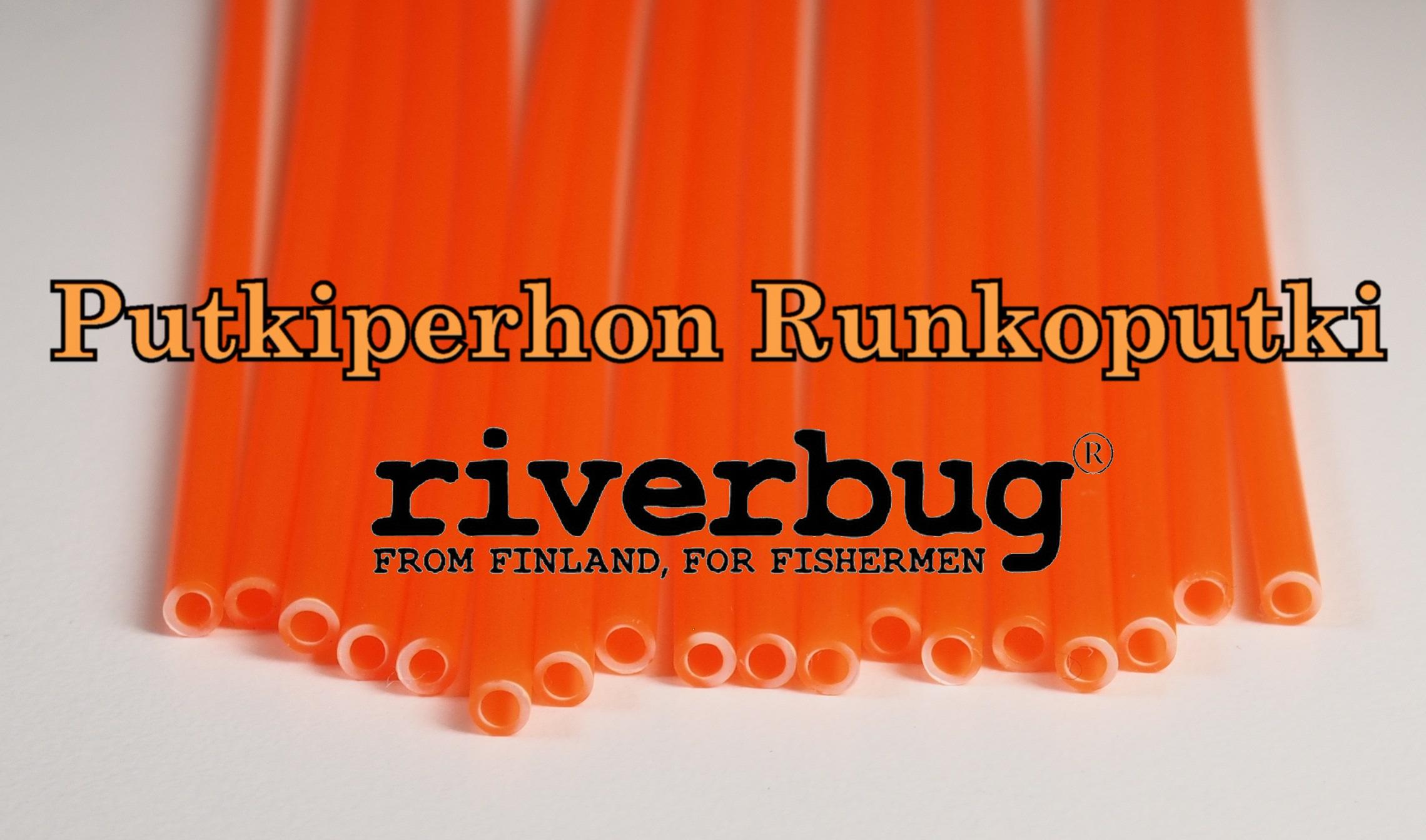 Body Tube for Tube Flies - Orange - RiverBug