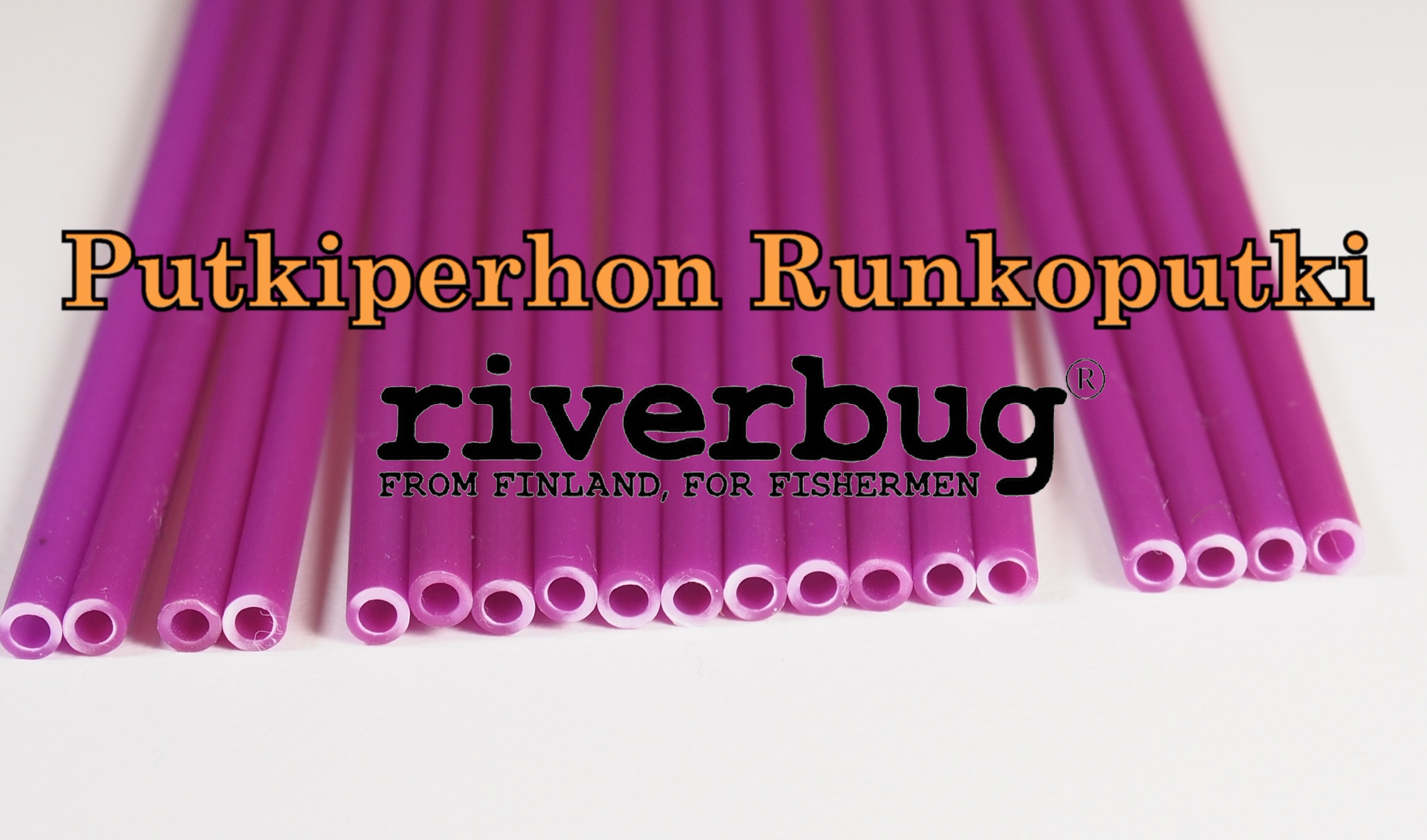 Body Tube for Tube Flies - Purple - RiverBug
