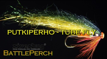 RiverTube - Putkiperho - Tube Fly - Tinseli