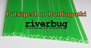 Body Tube for Tube Flies - FL.Green - RiverBug