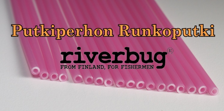 Body Tube for Tube Flies - Pink - RiverBug