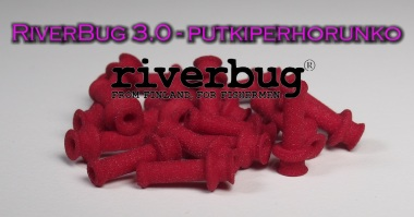 RiverBug 3.0 tube fly body - Red