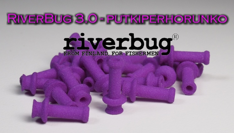 RiverBug 3.0 tube fly body - Purple