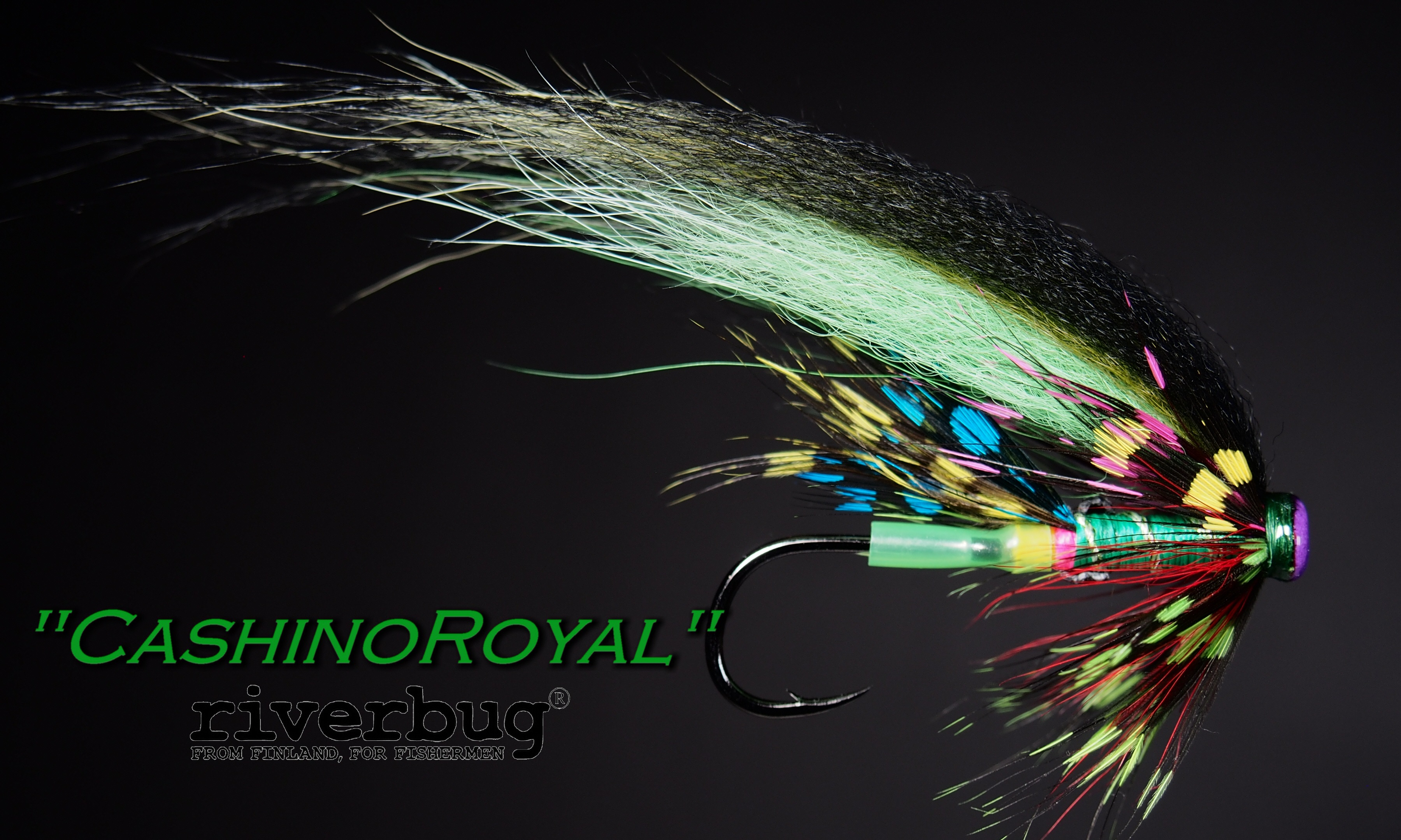 Putkiperho - Tube Fly by RiverBug. #casinoroyale #putkiperhot #tubefly #riverbug #salmonfly #lohiperho #flytying #sample #picture