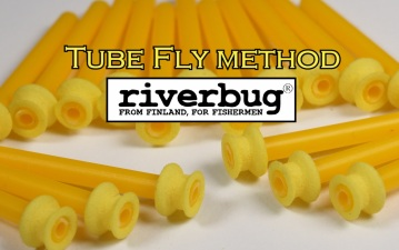 Tube Fly sleeves by RiverBug - Putkiperhon sidontaholkkeja