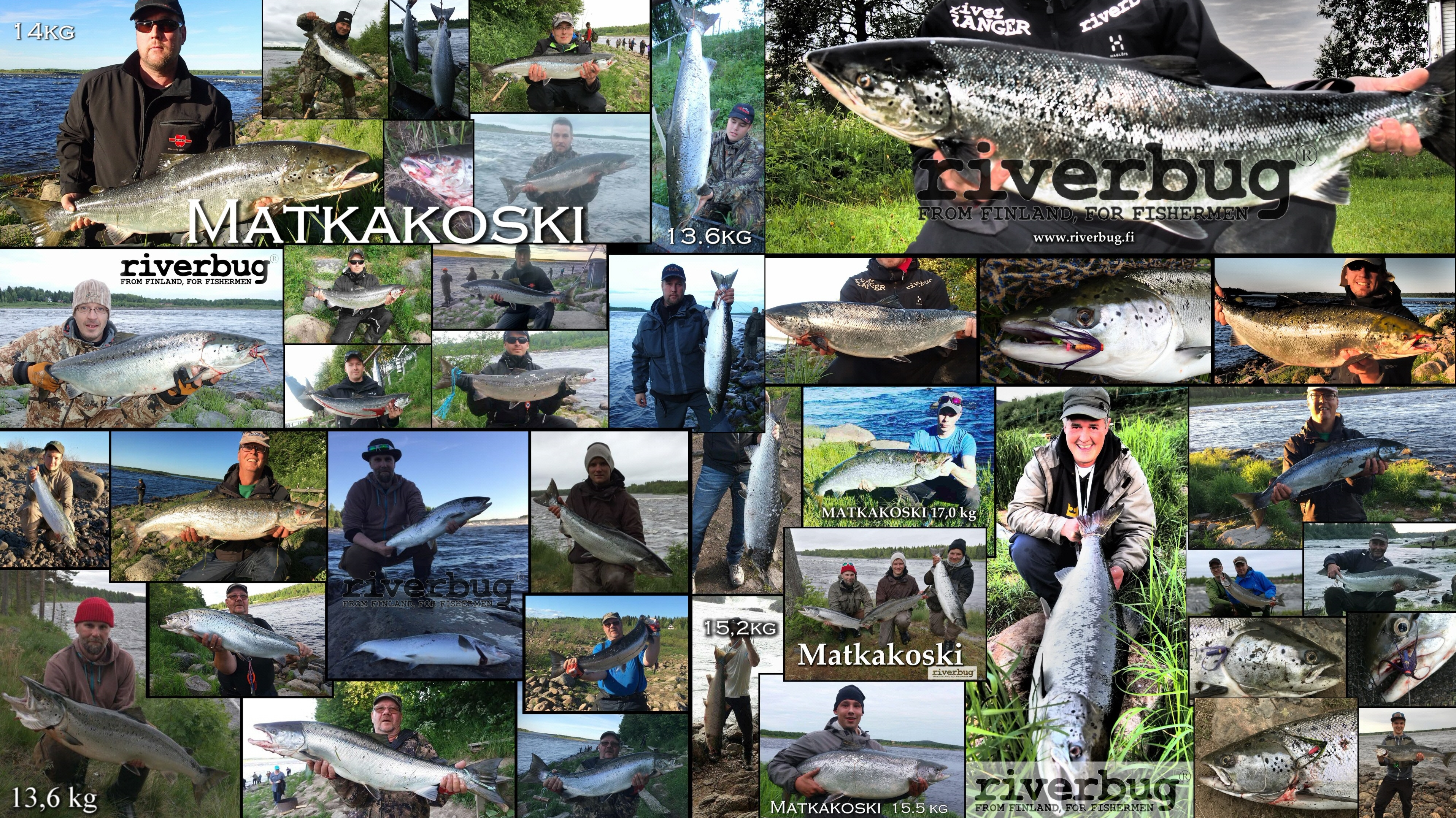 RiverBug Tube Fly users from Finland and Sweden!