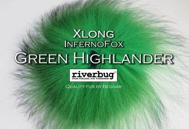 Ketunkarvat - XLong - Green Highlander. Made by Beggar / RiverBug. #ketunkarvat #ketunkarva #putkiperhot #perhonsidonta #fox #räv #flytying #greenhighlander