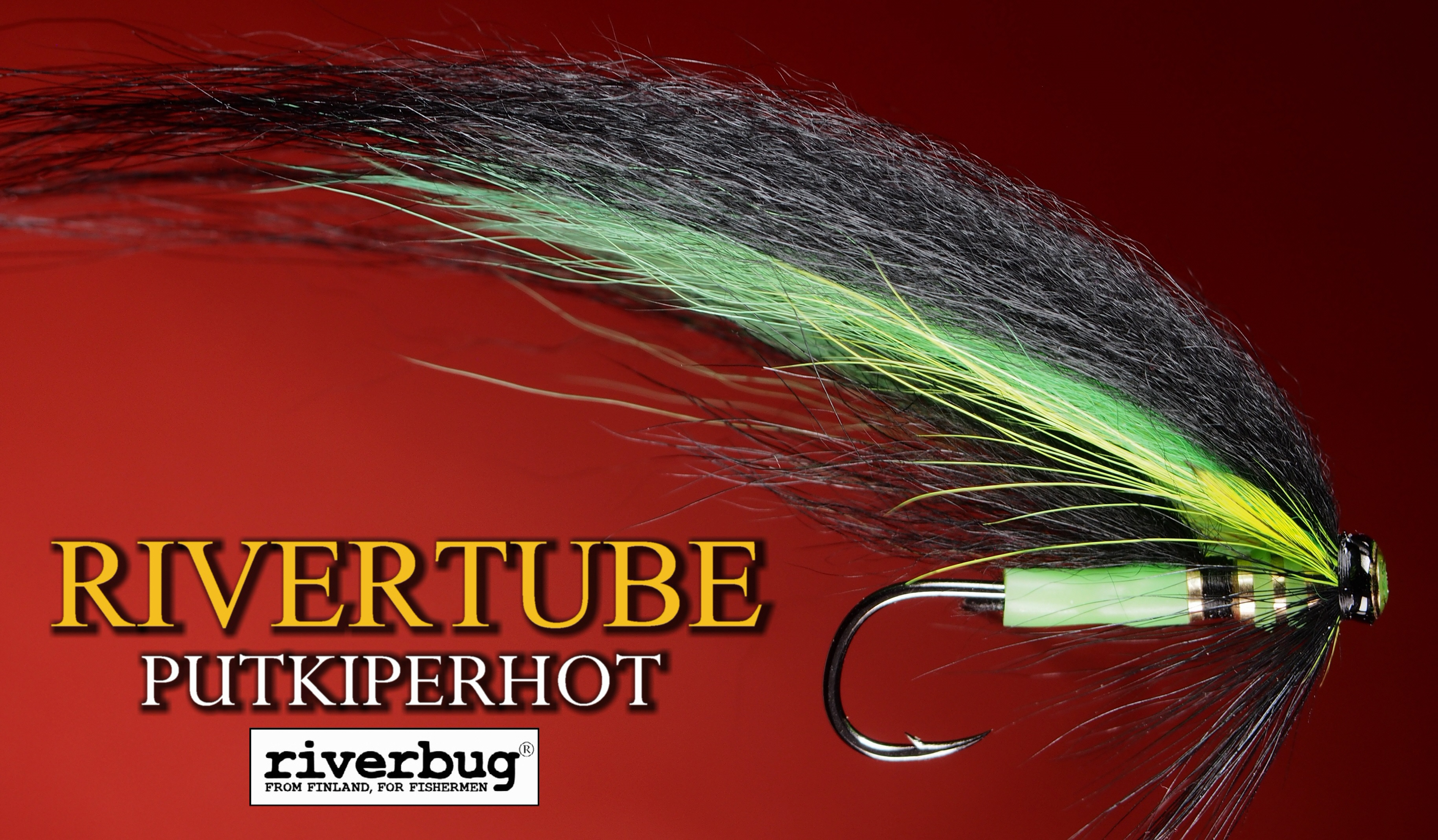 Putkiperhot - Green Monkey by RiverTube tube flies