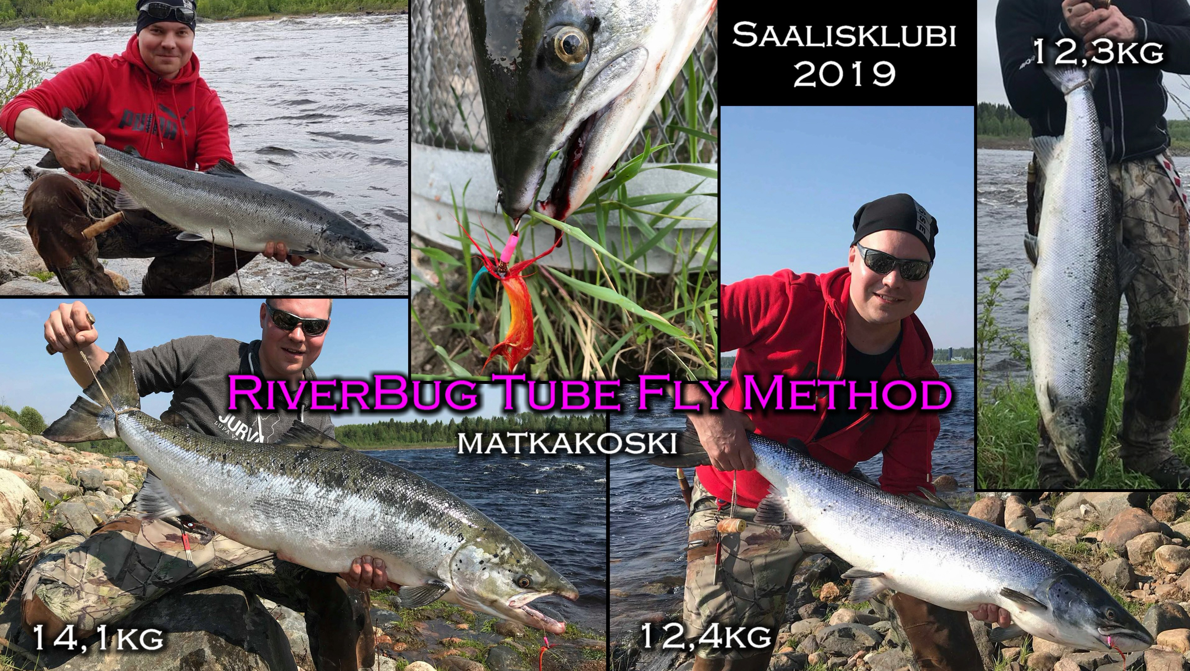 RiverBug Tube Fly feedbacks from user. #putkiperhot #putkiperho #matkakoski #spinfluga #salmon #lohi #lax