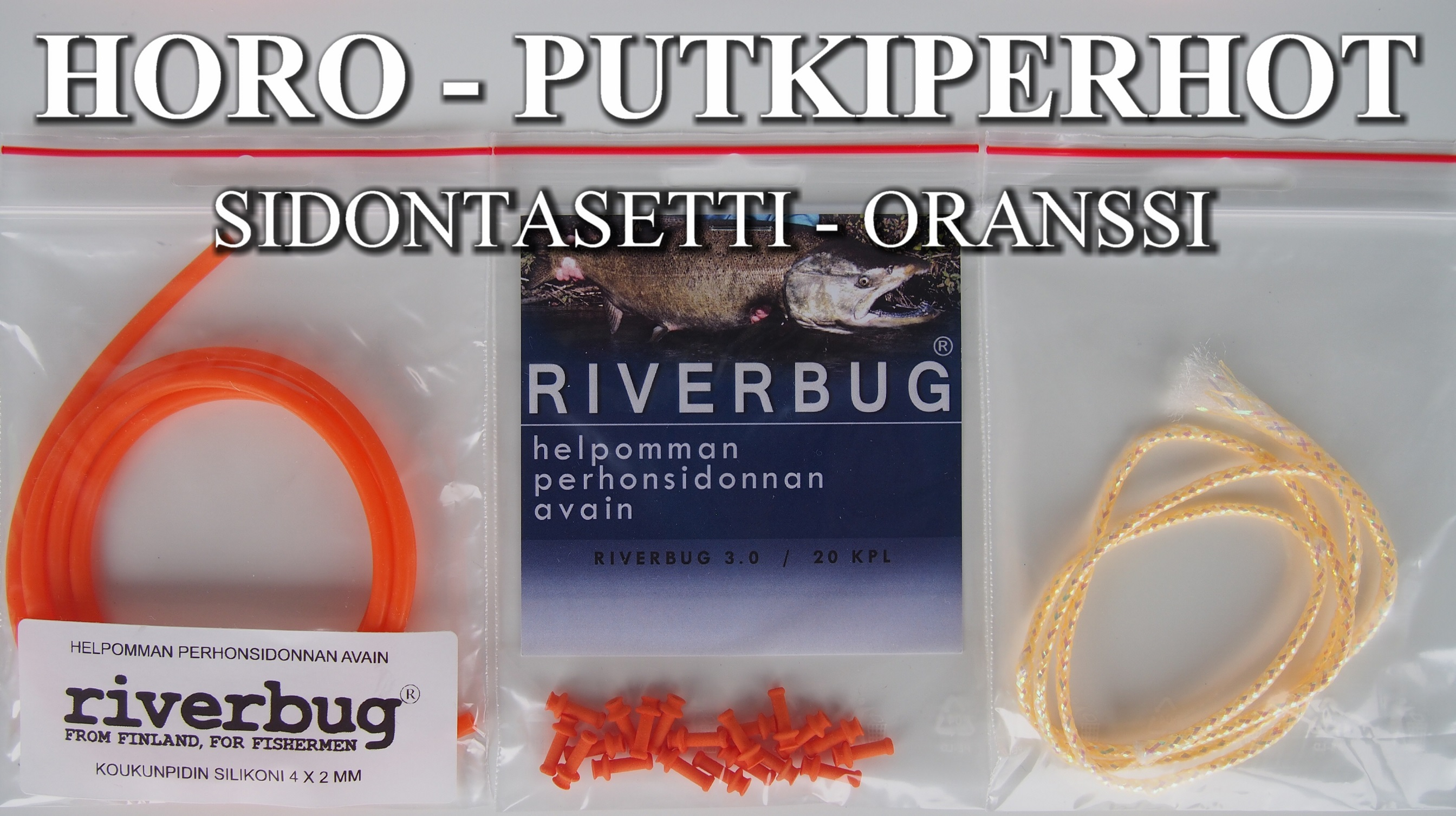 HORO - PUTKIPERHOT can be done easy in RiverBug Tube Fly system. #perhonsidonta #riverbug #mylar #mylartube #putkiperhot #perho #lohi #lohiperho #rivertube #riverbugperho