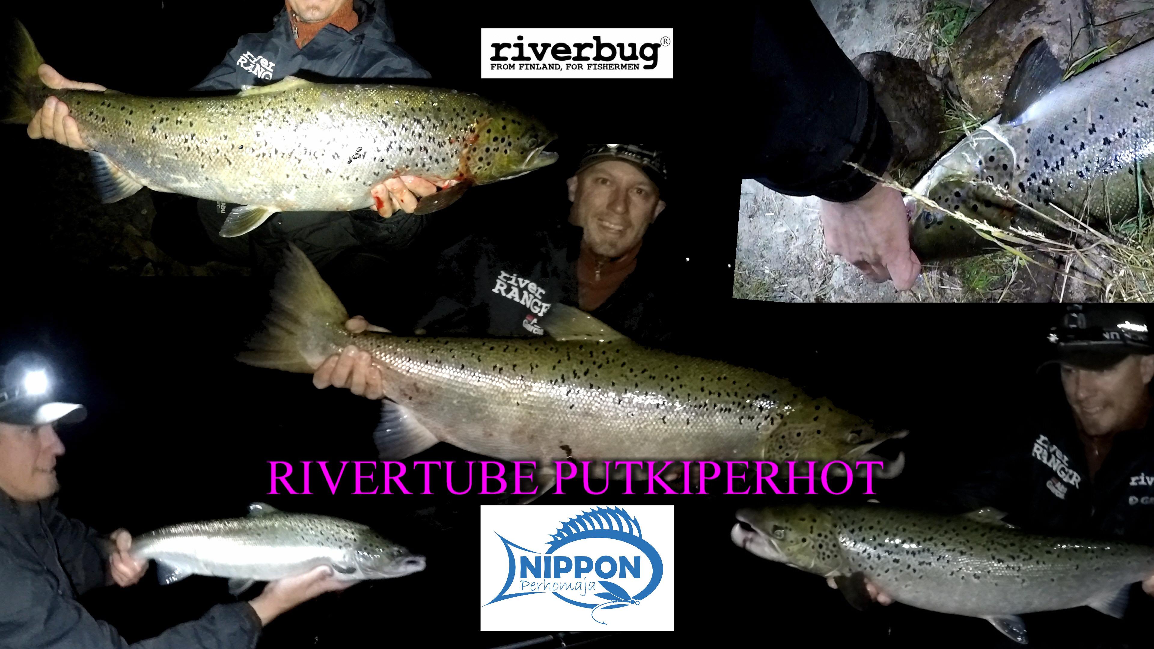 RiverTube Putkiperhot can be found in several tackle shops in Finland! #matkakoski #lohi #riverbug #putkiperhot #perhonsidonta #merikoski #boden #rivertube #merikoski #oulu