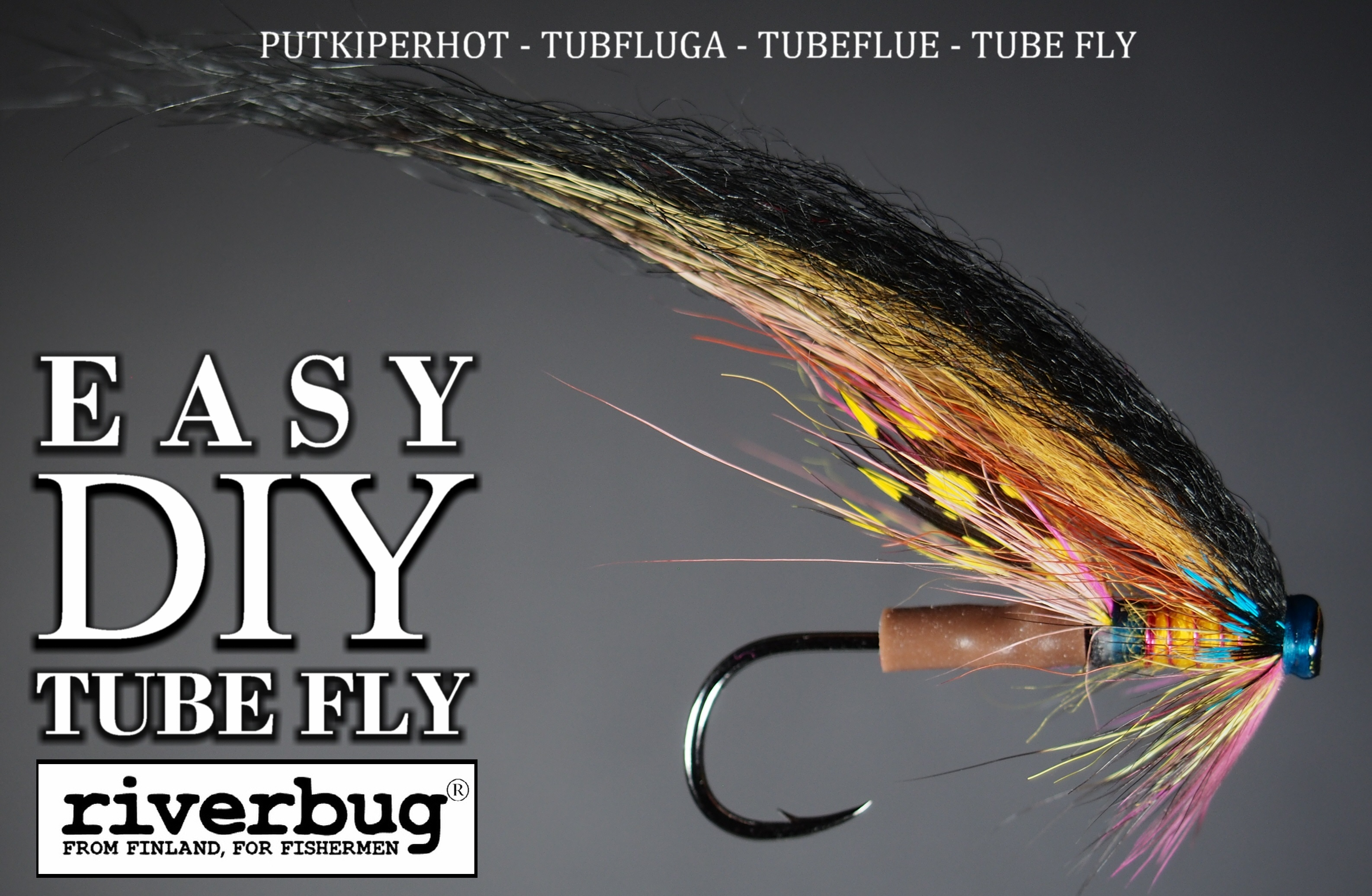 PHATAKORVA - PUTKIPERHOT - RIVERBUG - TUBEFLUE - TUBFLUGA easy DIY tube fly method. #tubefly #putkiperhot #phatakorva #phatagorva #DIY #flytying #tubfluga #tubeflue #tubefluer #lohiperhot