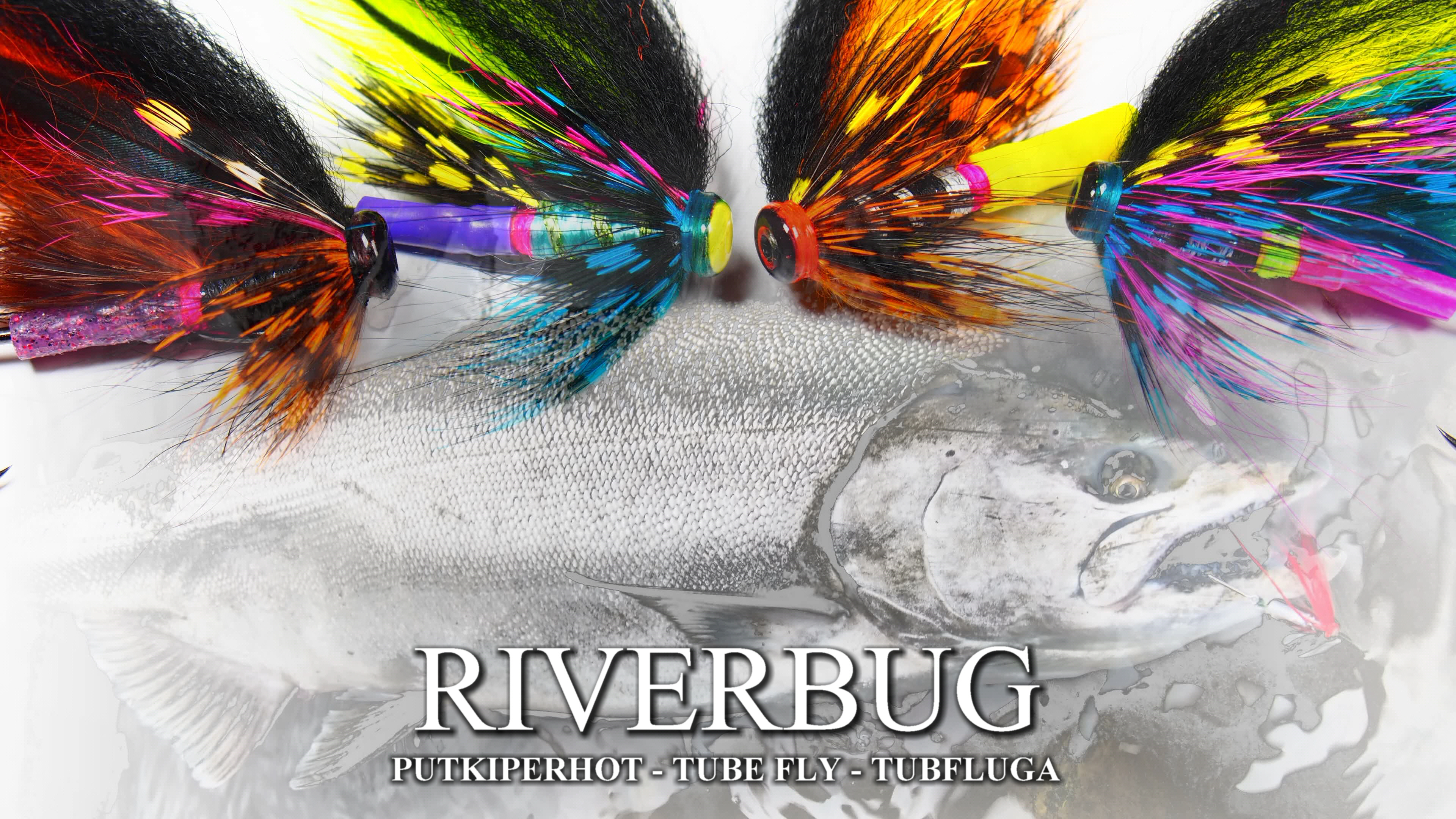 These RiverBug 2.0 tube flies are easy to make and highly good for salmon and trout! #tubfluga #tubefly #putkiperhot #finnlures #kettuperho #riverbug #matkakoski #DIY #art #finland #sweden #flytying