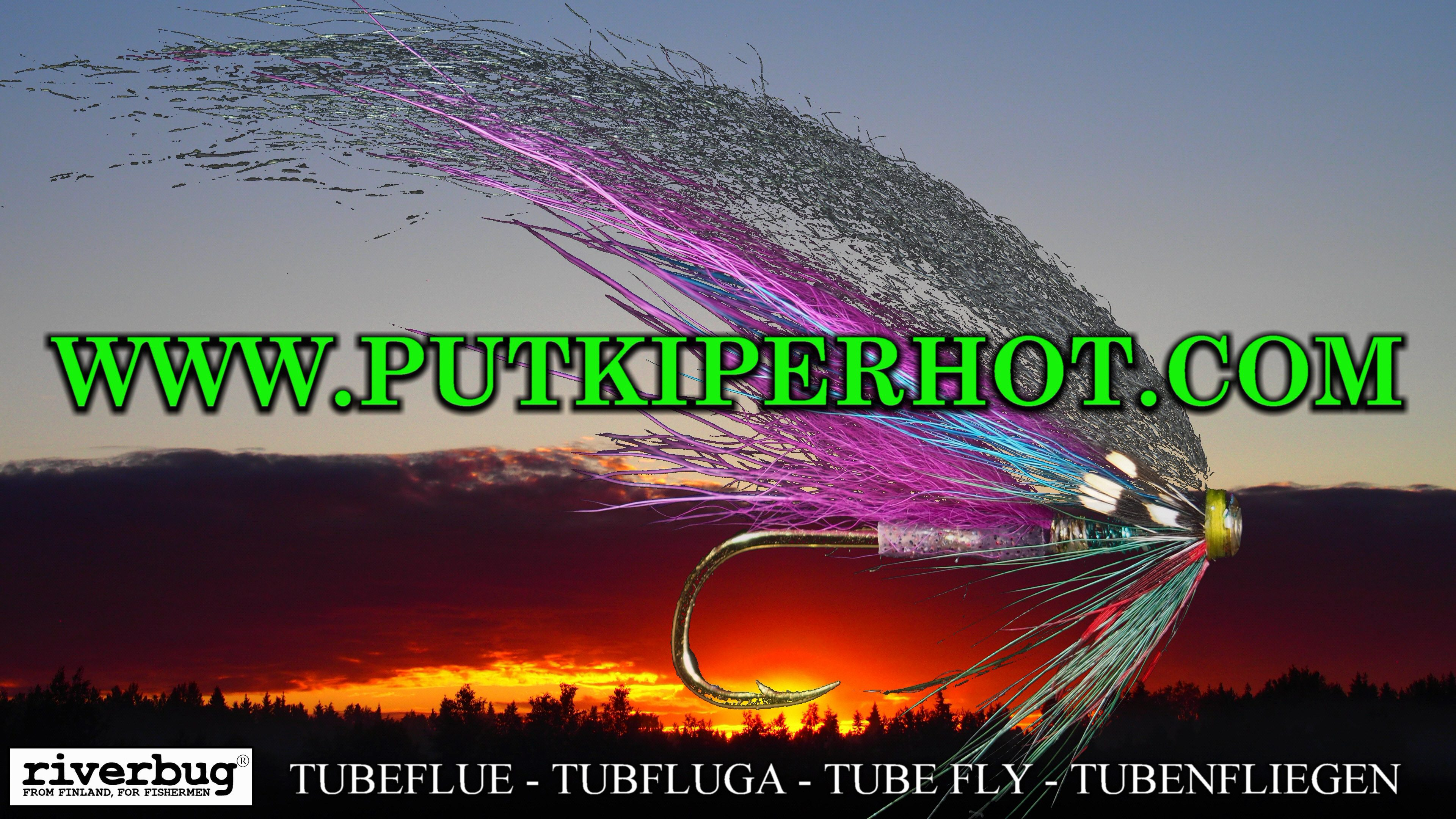 Putkiperhot – Tube Fly Tying – RiverBug Method – Tubfluga – Tubefluer – Tubenfliegen